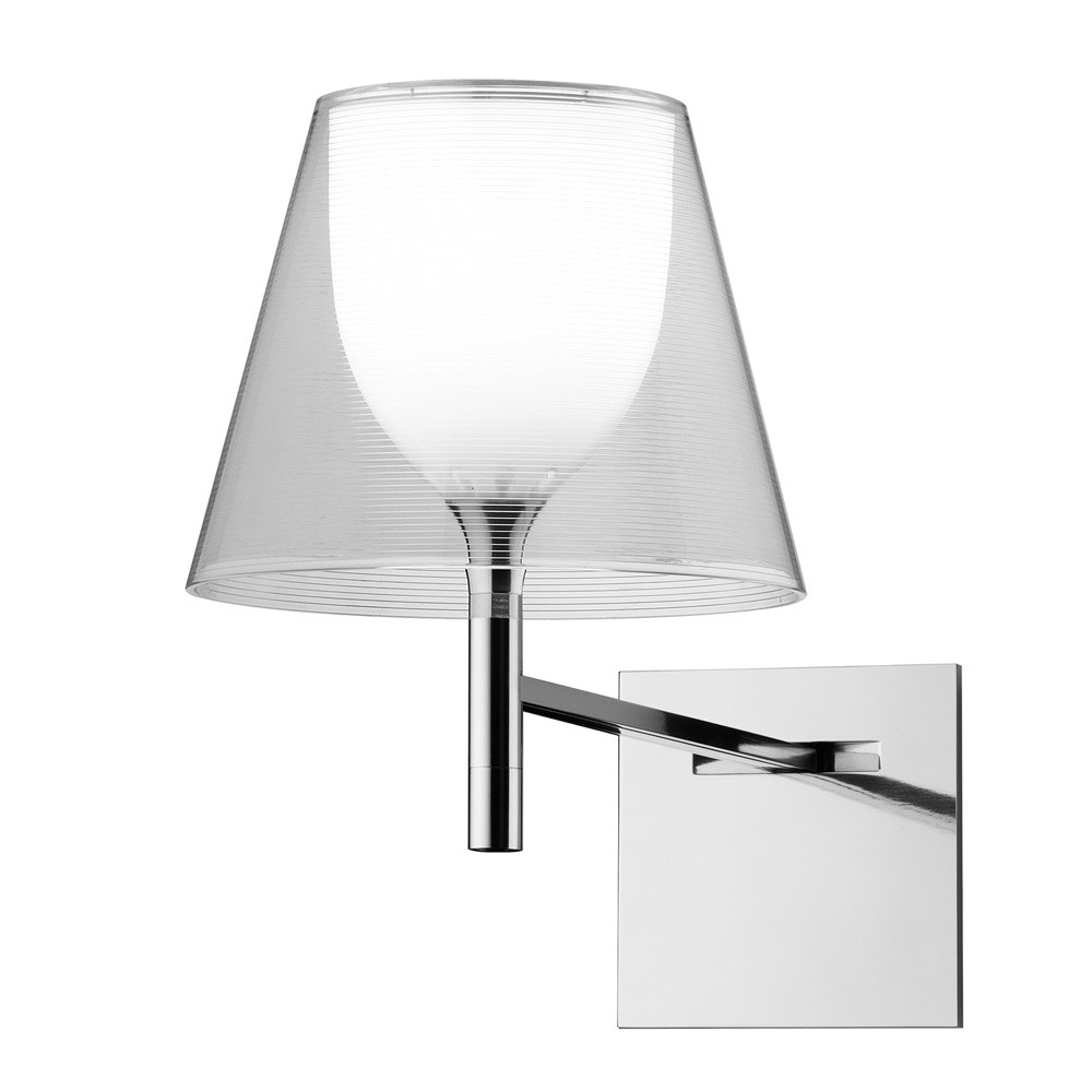 Ktribe W Wall Lamp E27 70w Transparent