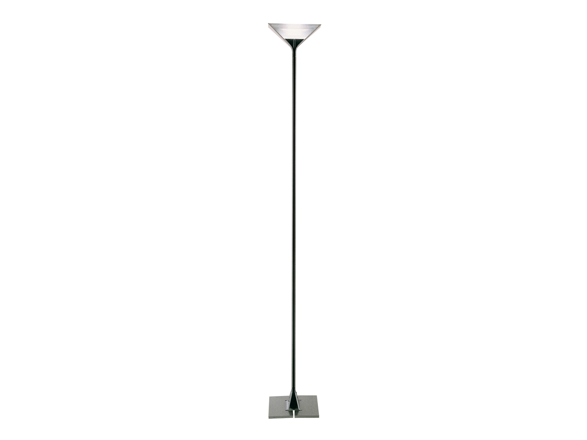 Papillona lámpara of Floor Lamp R7s dimmable Silver Black