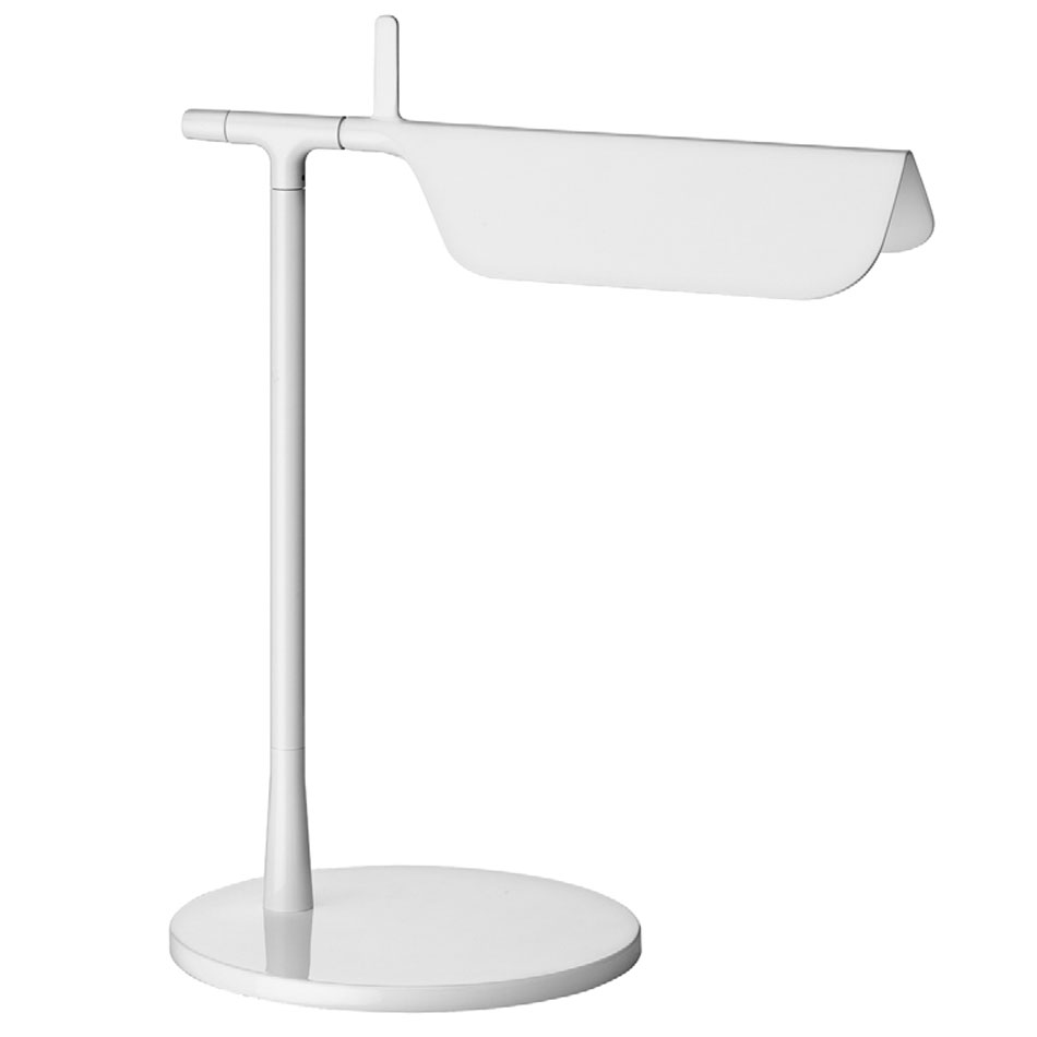 Tab T LED Table Lamp 32,7cm LED 5w White Shiny