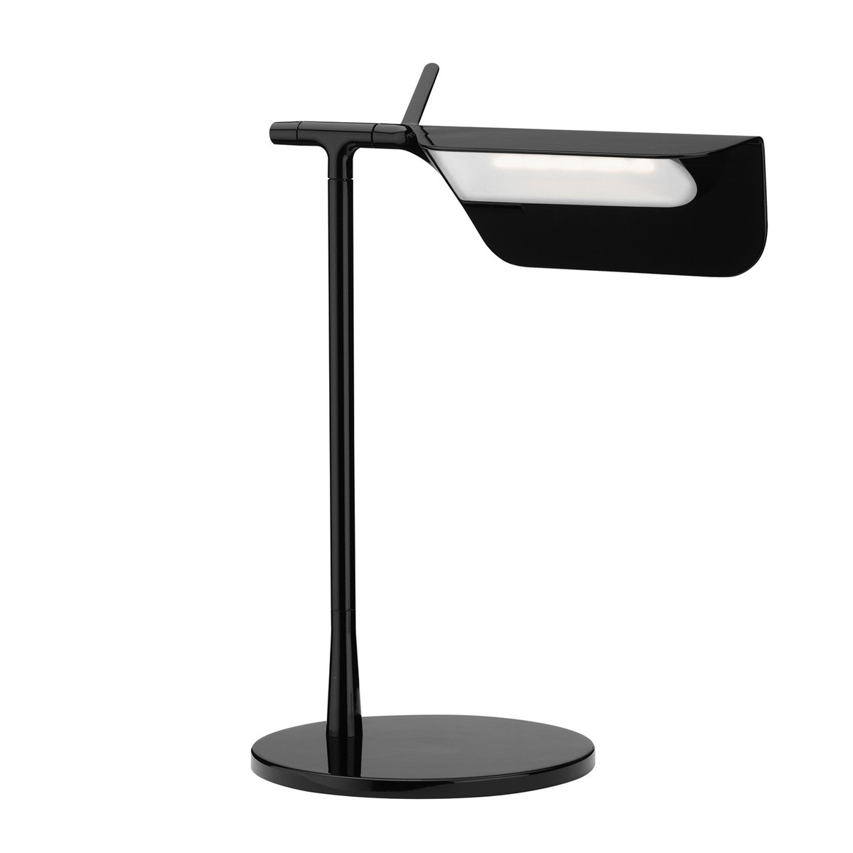 Tab T LED Table Lamp 32,7cm LED 5w Black Shiny