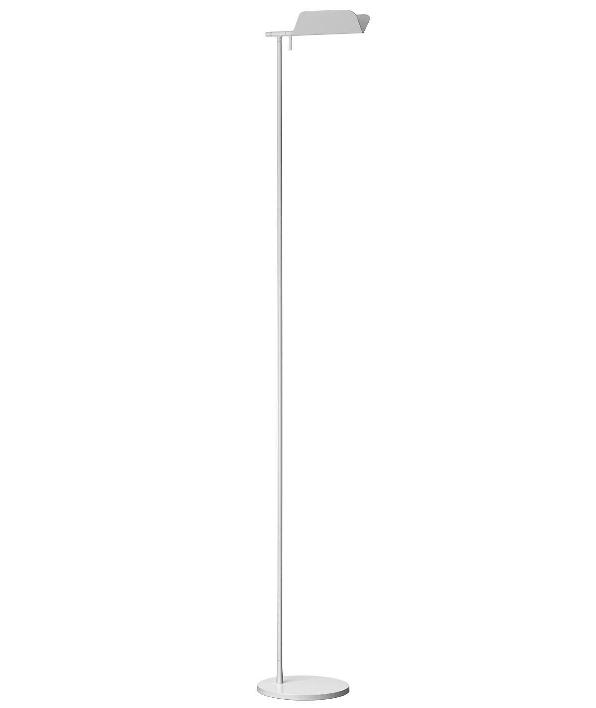 Tab F1 lámpara of Floor Lamp 110cm G9 33w white Shiny