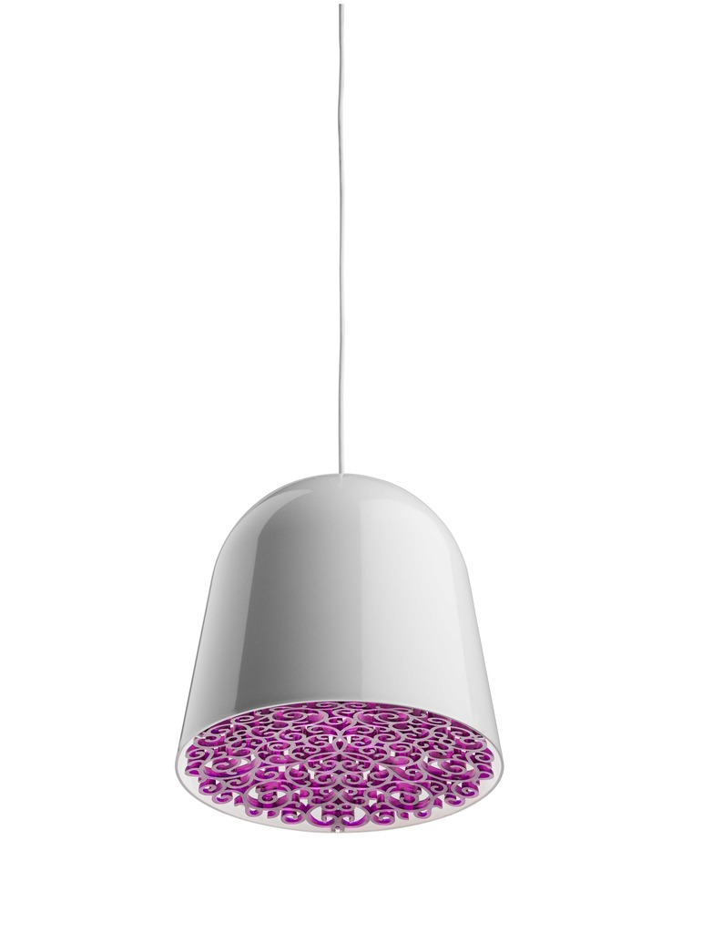 Mini Can Can Pendant lamp ø34,7cm E27 FBT 30w White/Violet