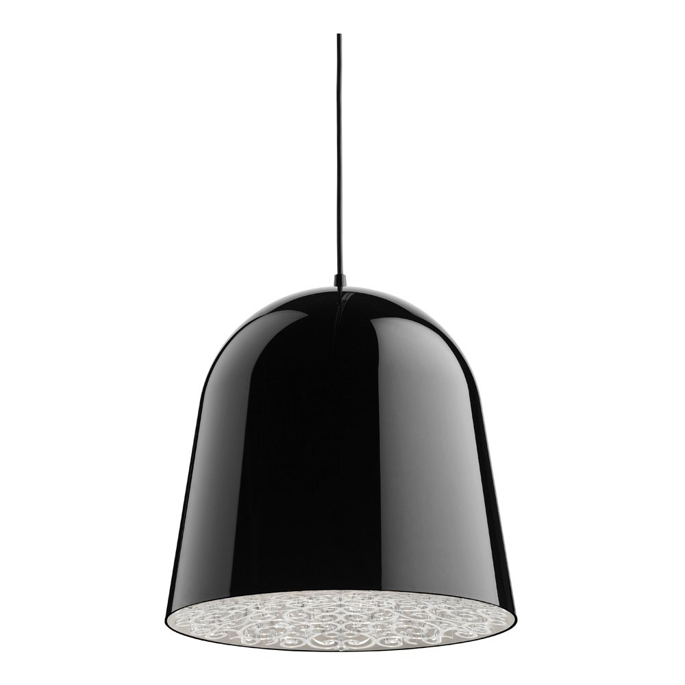 Mini Can Can Pendant lamp ø34,7cm E27 FBT 30w Black/Transparent