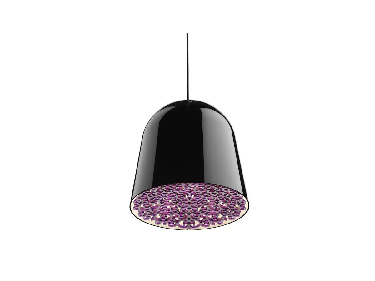 Mini Can Can Pendant lamp ø34,7cm E27 FBT 30w Black/Violet