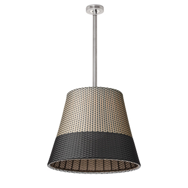 Romeo Outdoor C3 Lámpara Colgante de Exterior 91cm 150W E27 QT 48 Panama