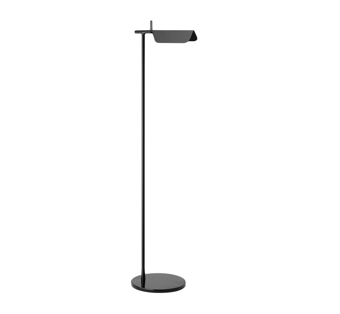 Tab F1 LED lámpara de Pie 110cm LED 5w Negro Brillante