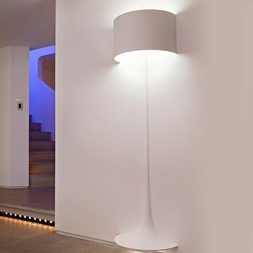 Spun luz w2 Fluorescente Lâmpada de assoalho