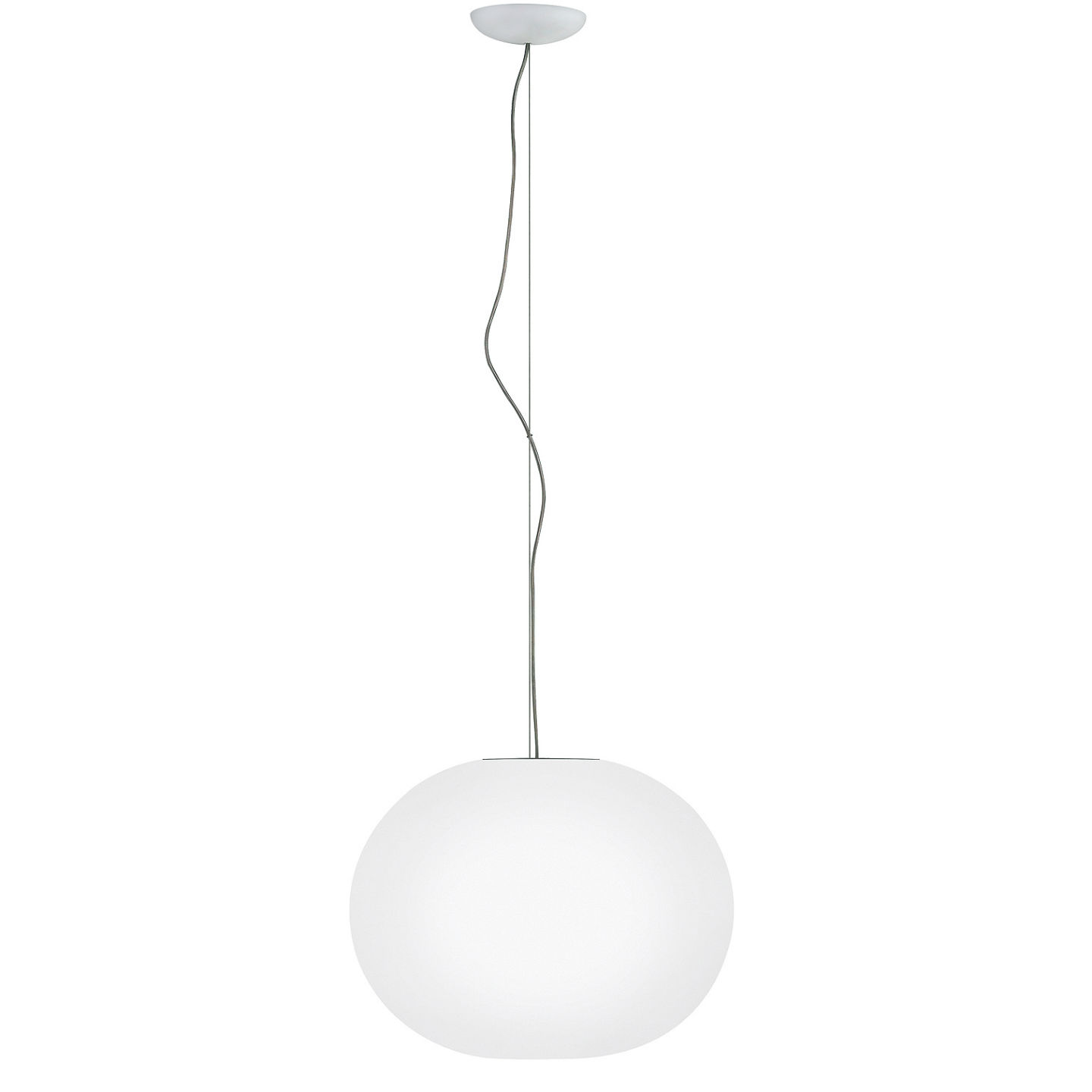 Glo Ball S2 Suspension 45cm E27 205W - blanc opale
