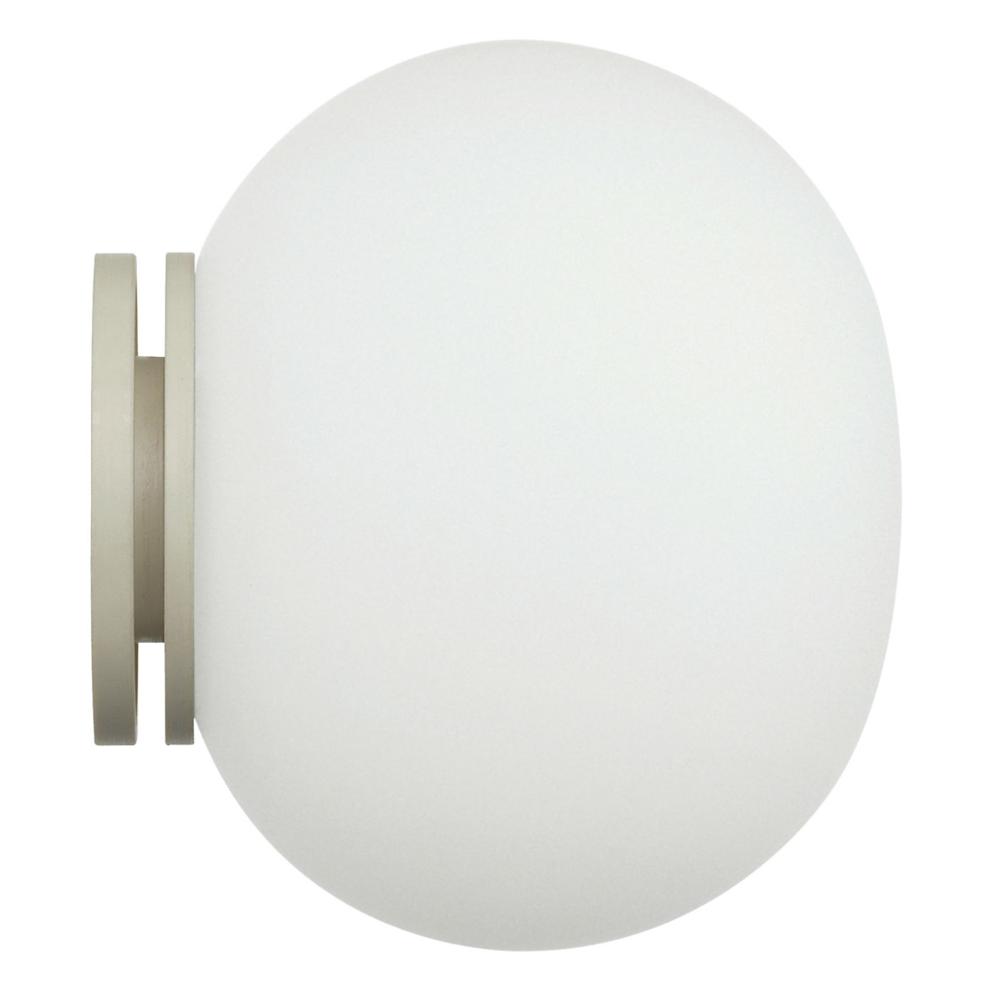 Glo Ball Mini C/W Applique/soffito 11,2cm G9 20W - bianco opale