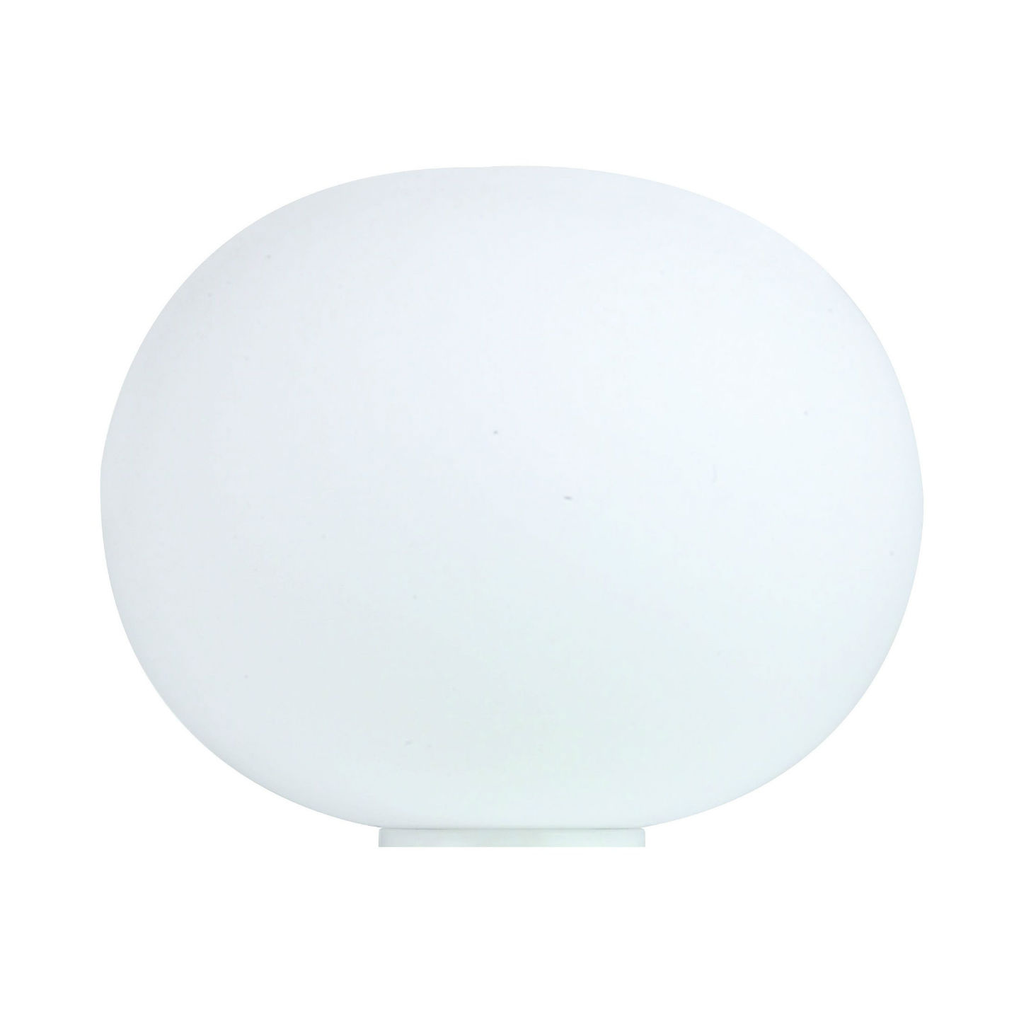 Glo Ball Basic Zero Lampe de table 19cm E14 60W avec commutateur - blanc opale