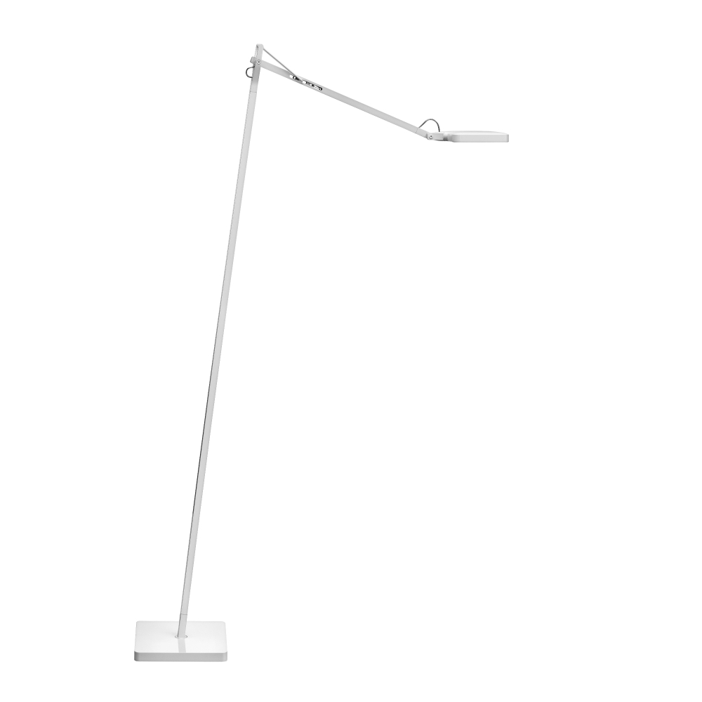 Kelvin LED F lámpara de Pie 8w 110cm blanco Brillante