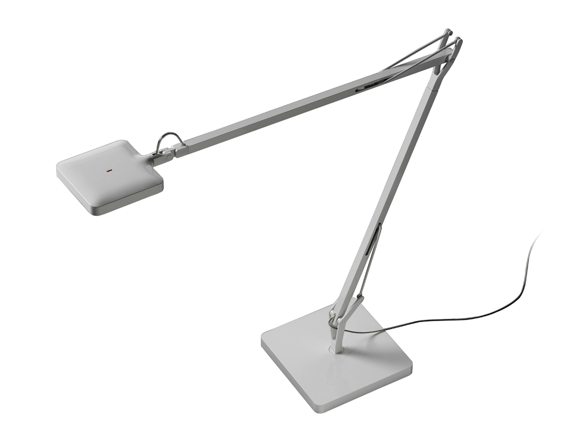 Kelvin LED Table Lamp with base 7.5w white Shiny