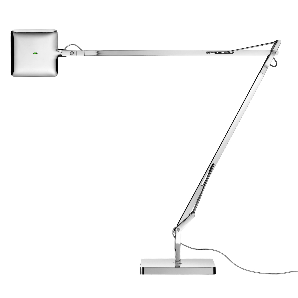 Kelvin LED Lampe de table avec base 7.5w Chrome