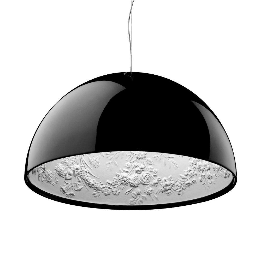 Skygarden 1 Eco Pendant Lamp ø60cm Gx24q 3 1x32w Black Shiny