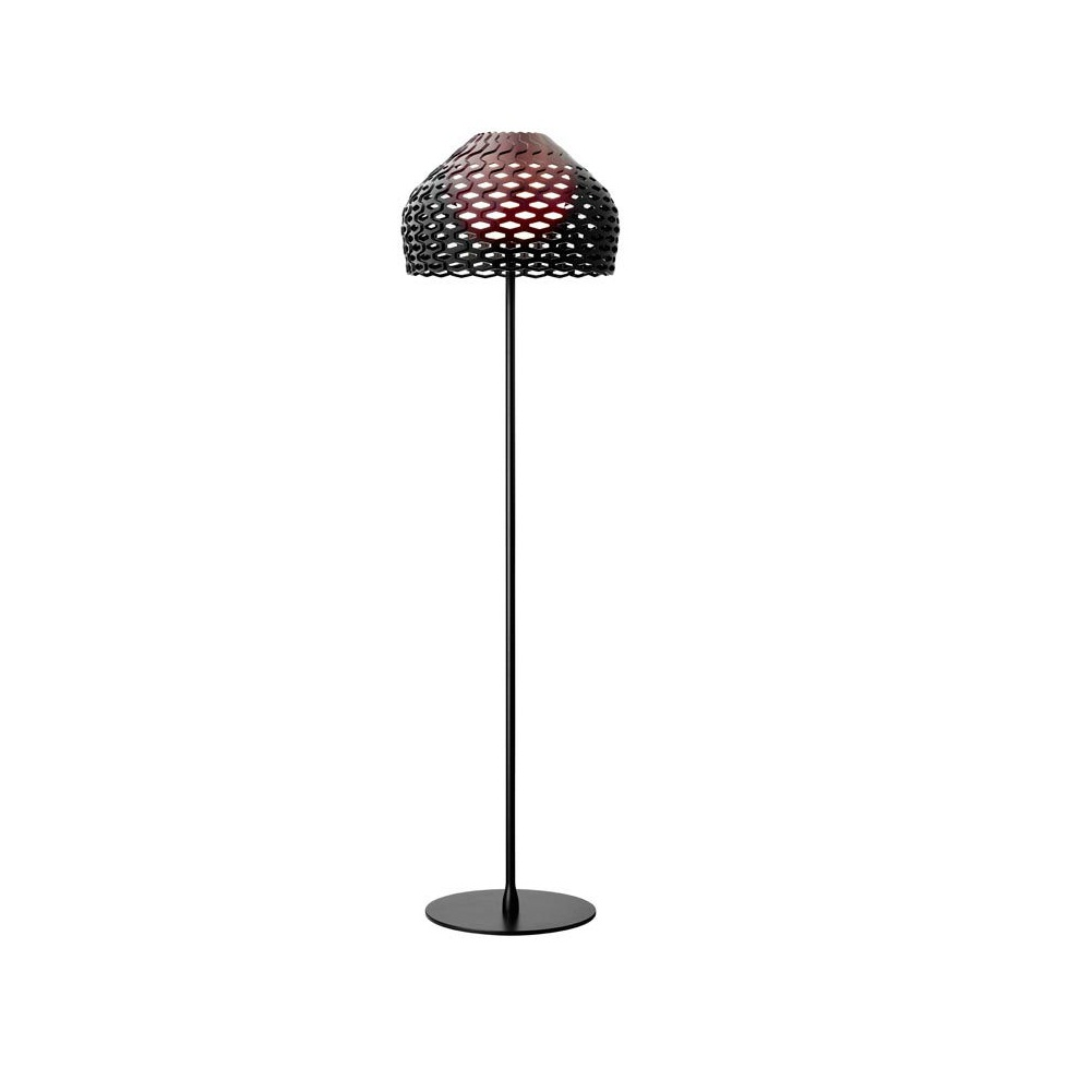 Tatou F lámpara de Pie E27 205w Negro