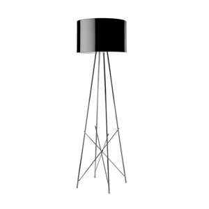 Ray F1 lámpara of Floor Lamp 128cm E27 1x105w Black