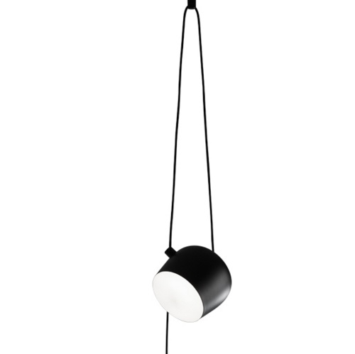 AIM Small Lamp Pendant Lamp cable más plug Black
