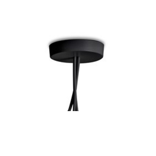 AIM Small Lamp Pendant Lamp roseta múltiple Black