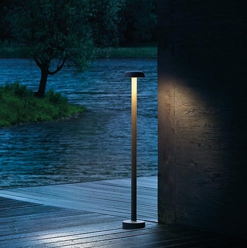 Belvedere Clove F1 LED 3K Base marrón oscuro