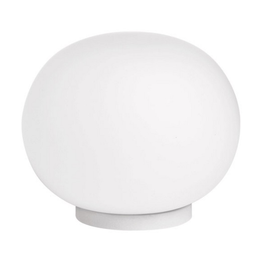 Mini Glo ball T Lampe de table G9 20W - blanc opale
