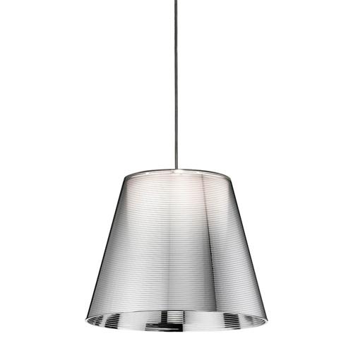 Ktribe S1 Pendant Lamp ø24cm G9 60w Aluminizado Silver