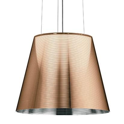 Ktribe S2 Lámpara Colgante ø39,5cm 1x150w E27 Aluminizado Bronce