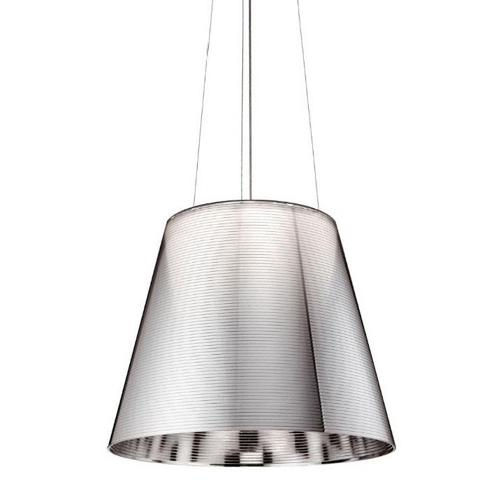 Ktribe S2 Lámpara Colgante ø39,5cm 1x150w E27 Aluminizado Plata
