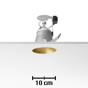 Easy Kap 105 Recessed fixed QR-CBC51 50w max white