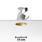 Easy Kap 105 Embutida fixo QR-CBC51 50w max branco