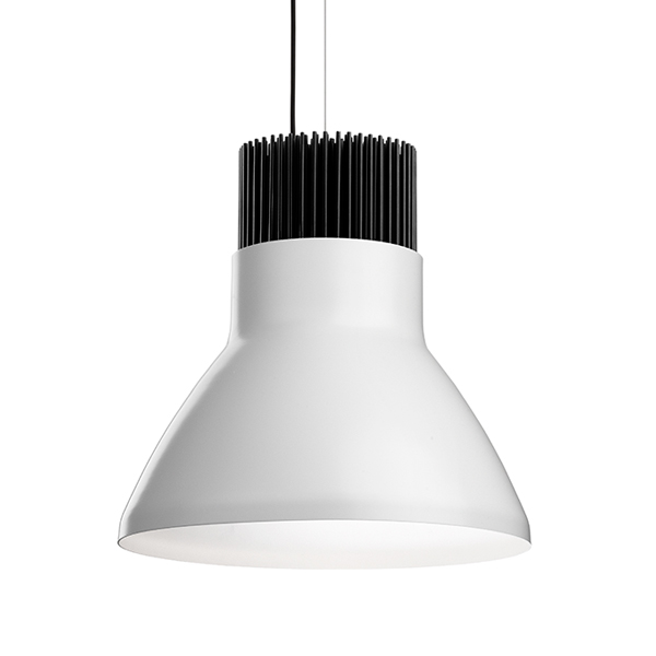Light Bell Difusor EXT branco INN ANNODIZED ALU.