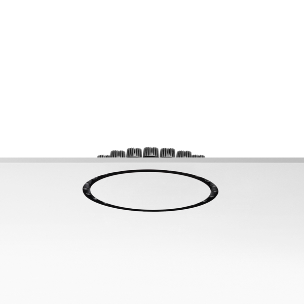 Circle of Light (Accessory) plate of Recessed 600mm