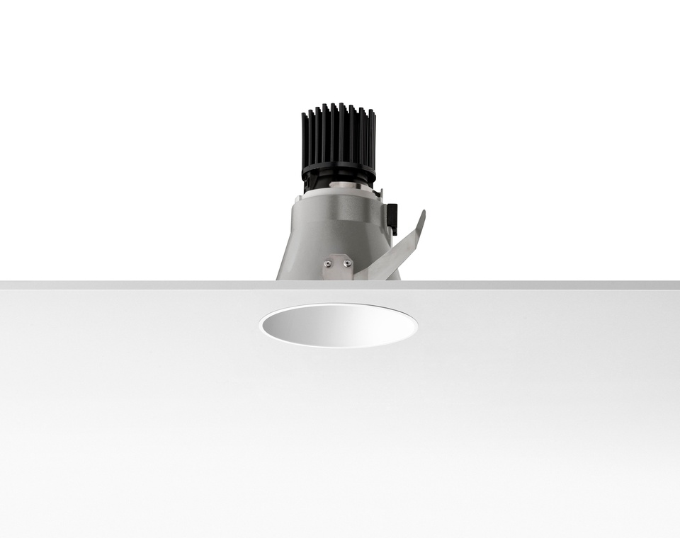 Easy Kap 105 Recessed fixed LED Array 3000K Max 8,2w Black
