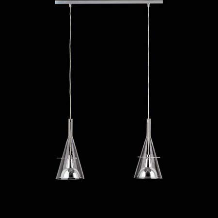 Flute Lámpara Colgante Doble 80x18x180cm 2x70w E27 (HL)