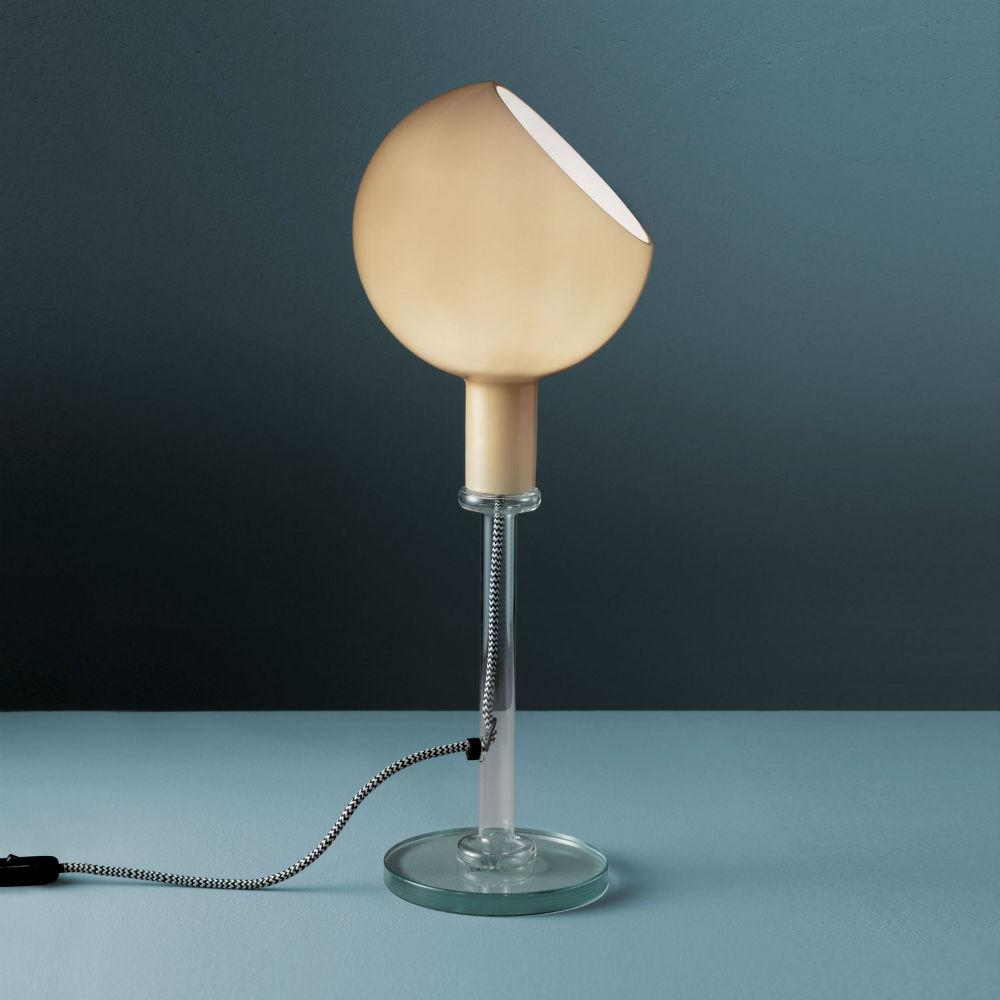 Parola Sobremesa (Cuerpo) ø20x53cm 1x150w B15d (HL) Transparente