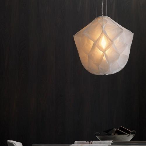 Albedo Lámpara Colgante pequeño 1x33w Fluorescente E27 blanco