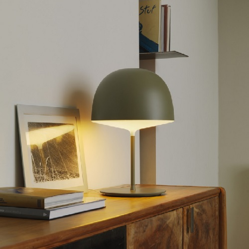 Cheshire Table Lamp Green 3x23w E27