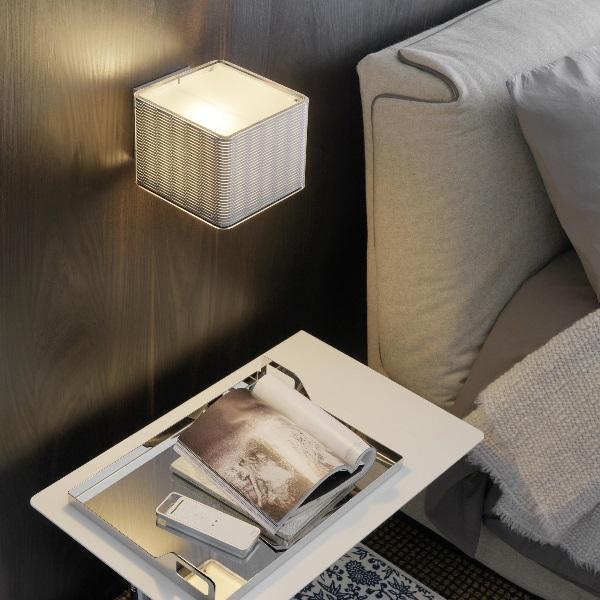 Lounge Wall Lamp 17x20x13cm 1x20w E27 (FL) Transparent