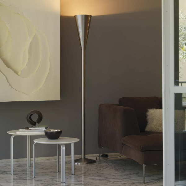 Luminator lamp of Floor Lamp ø31x190cm 1x230w R7s/115 niquel