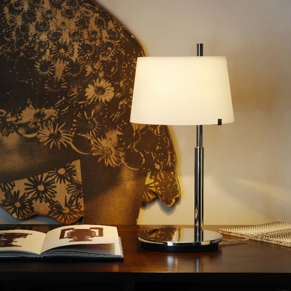 Passion Table Lamp niquel ø20x36cm 1x48w G9 (HL)