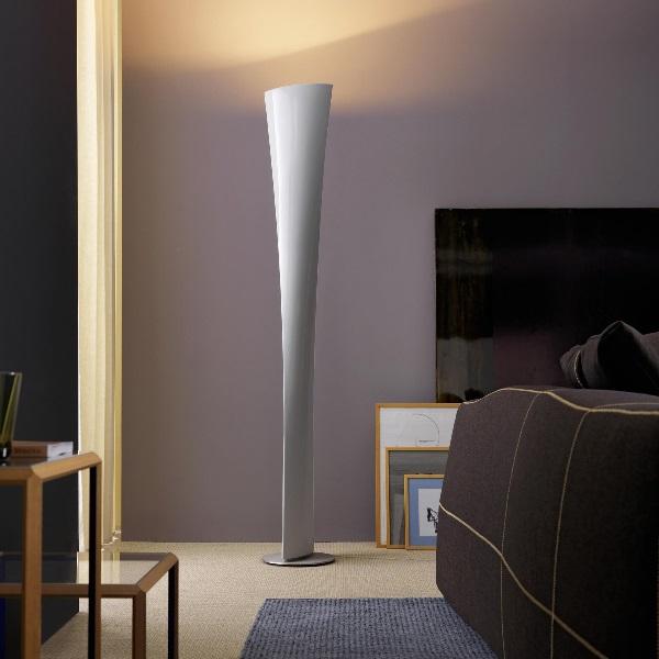 Polaris lámpara de Pie blanco Ø30x193cm 1x230w R7s (HL)
