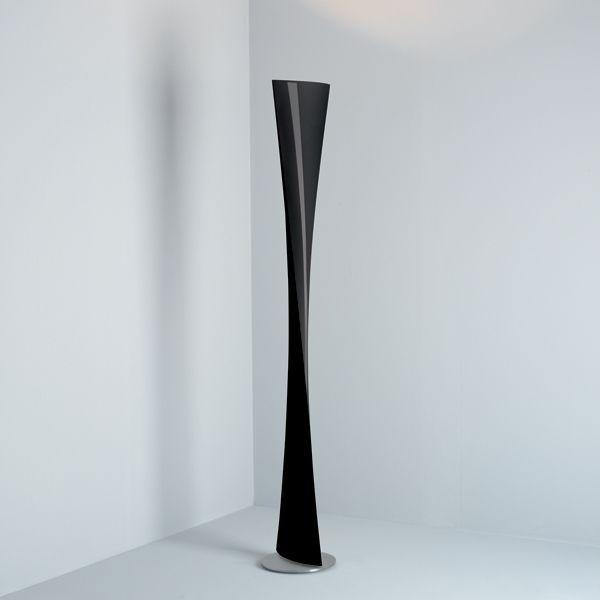 Polaris lámpara de Pie negro ø30x193cm 1x230w R7s (HL)