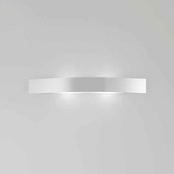 Riga Aplique 56x9x7cm 1x26w G24d-3 (FL) blanco