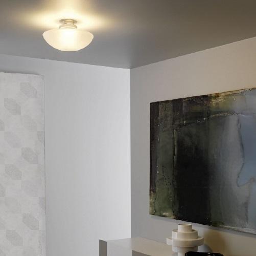 Sillabone Plafón gris 1x100w E27
