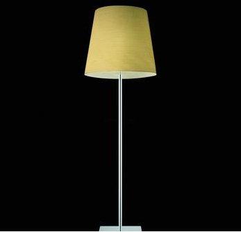 Mega Kite lámpara de Lâmpada de assoalho Amarelo