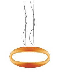 O space Pendant Lamp orange
