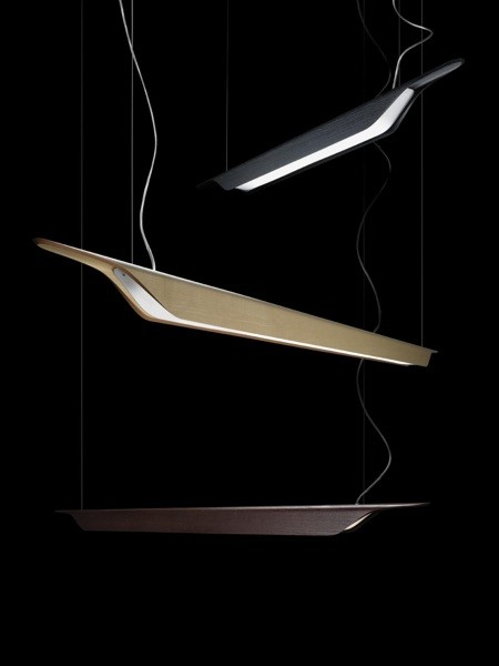 Troag large Pendant Lamp G5 80w Black