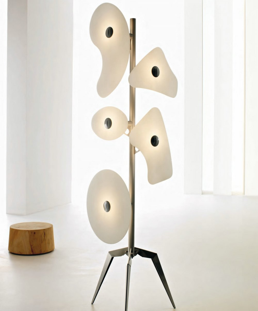 Orbital (Sólo Structure) Floor Lamp without vidrios