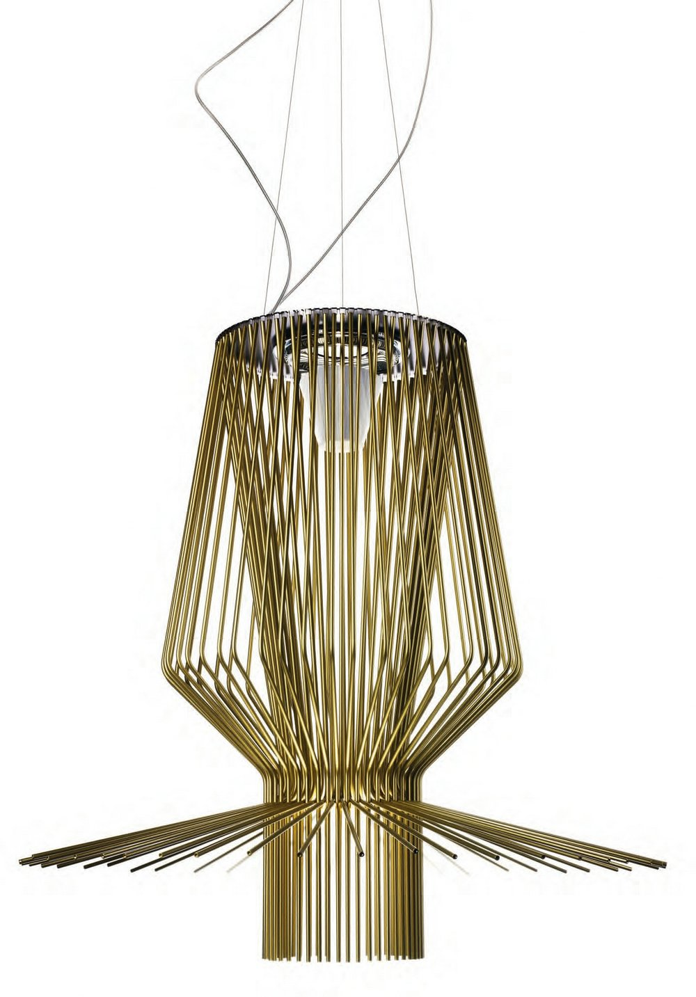 Allegro Assai Pendant Lamp ø136cm Gold