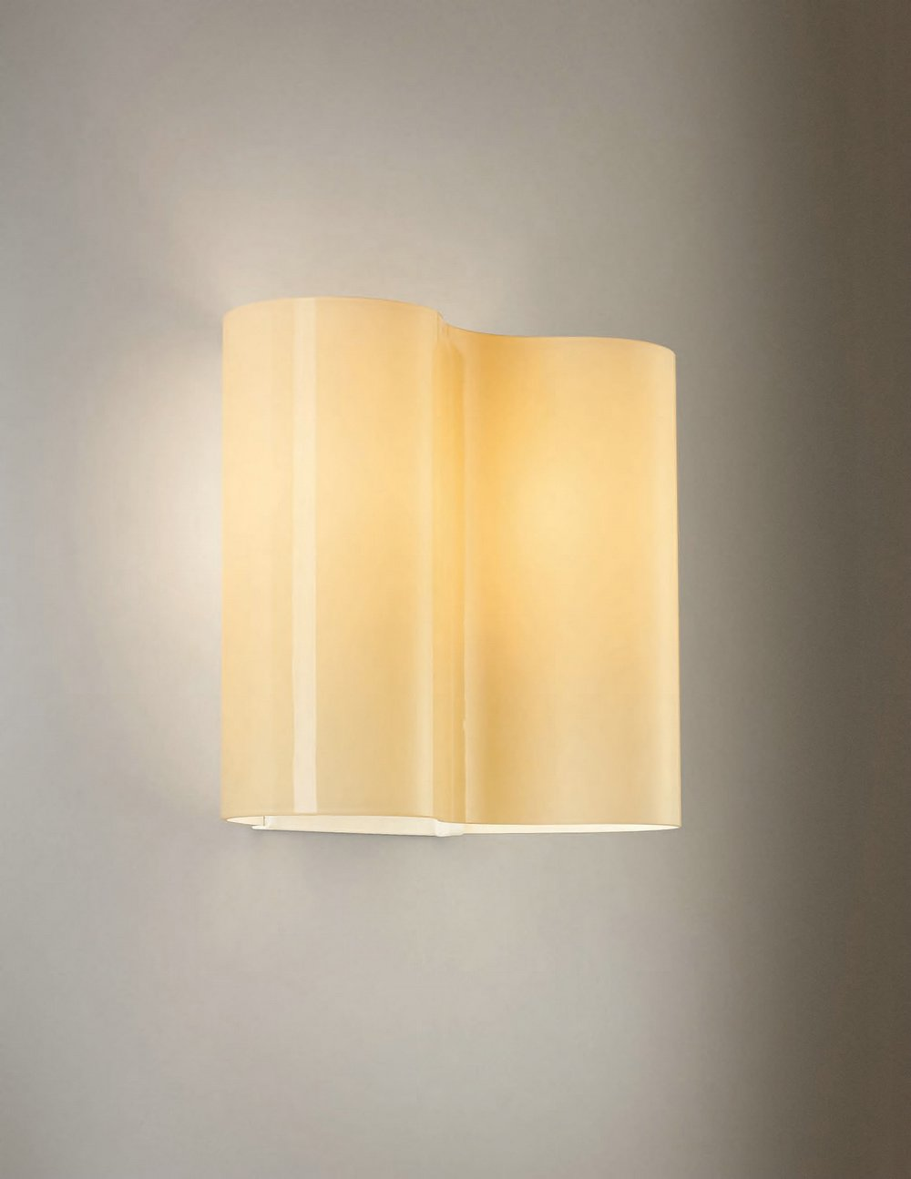 Double 07 Wall Lamp Ivory