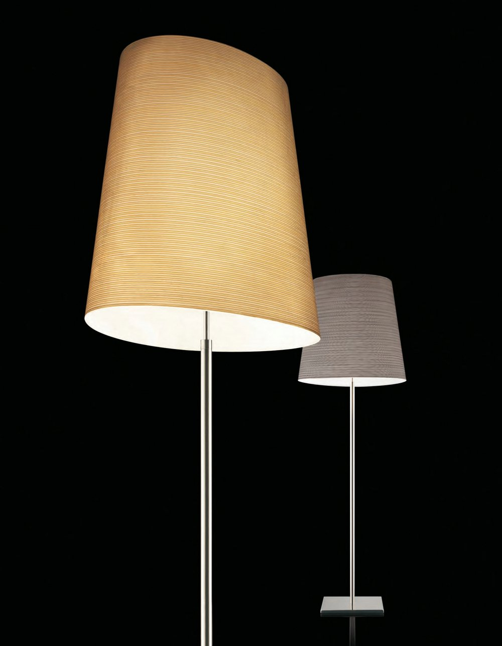 Giga lite lámpara of Floor Lamp Spare black lampshade